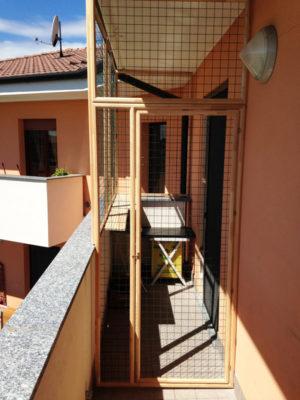 Chiusura parziale balcone