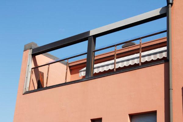 terrazzo con anti scavalcamento